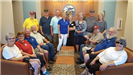 Photo from visit to Iowa Veterans Cemetery on July 12, 2017