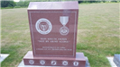 Photo of ExPOWs memorial from visit to Iowa Veterans Cemetery on July 12, 2017