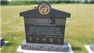 Photo of Korea Veterans memorial from visit to Iowa Veterans Cemetery on July 12, 2017
