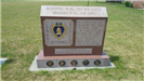 Photo of Purple Heart Veterans memorial from visit to Iowa Veterans Cemetery on July 12, 2017