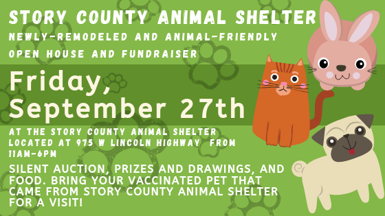 Banner for Animal Shelter Open House