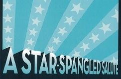 A Star-Spangled Salute text with stars