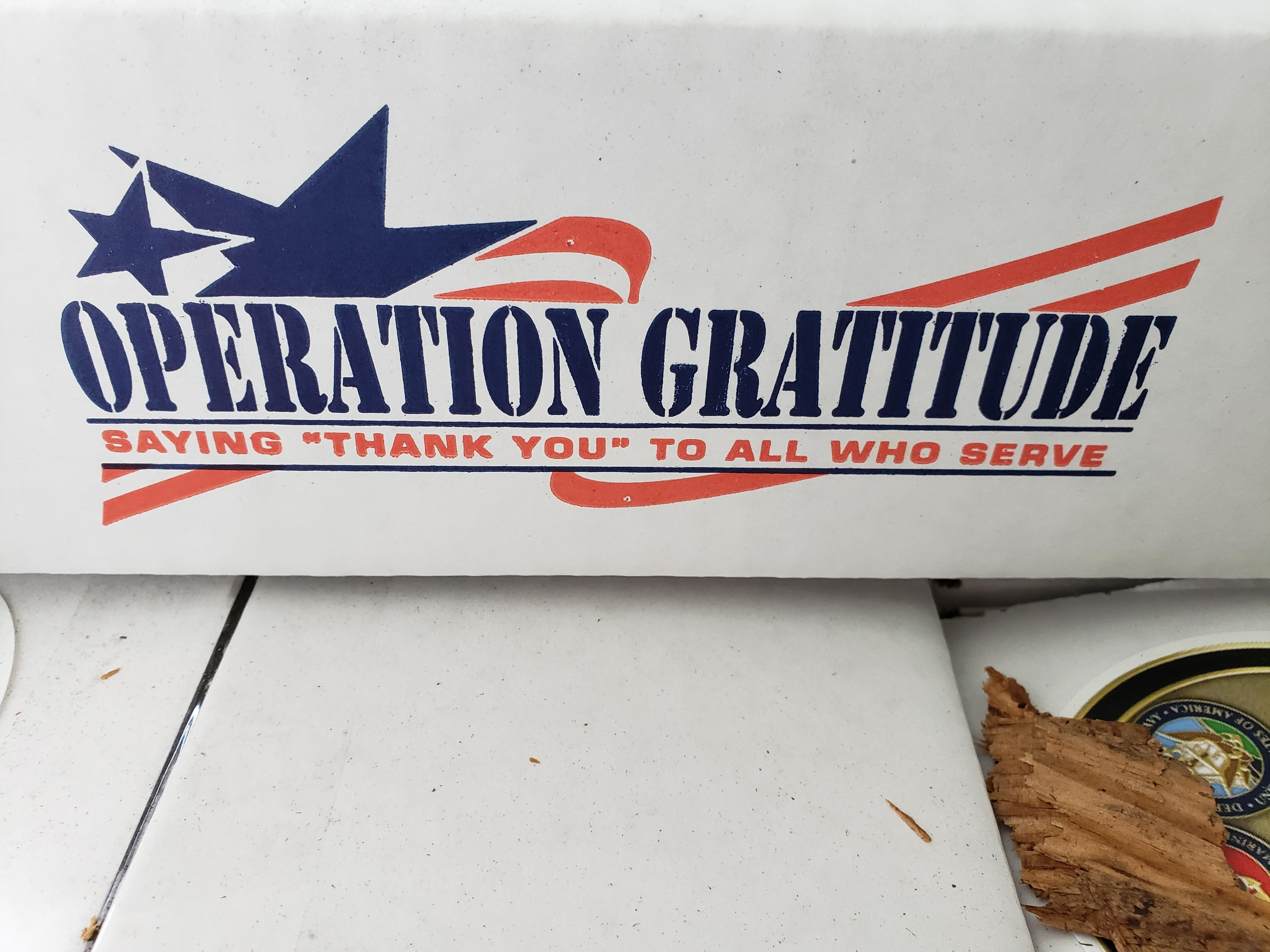 Operation Gratitude Care Packages