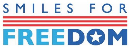 Smiles For Freedom text and logo
