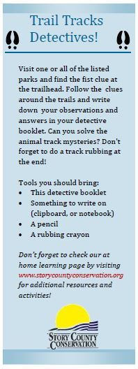 Trail Tracks Detectives Booklet
