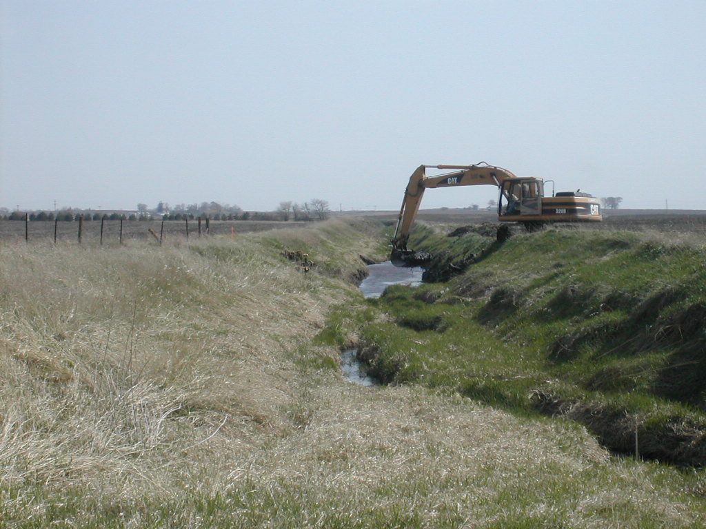Open Drainage Ditch Work