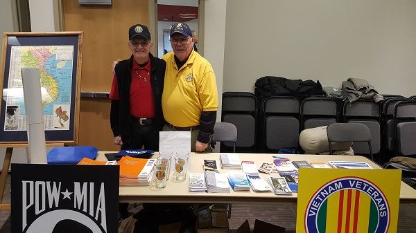 Photo from Supermarket of Veterans Benefits held on November 13, 2018