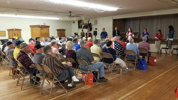 Photo from Veteran Appreciation Day held on May 18, 2018