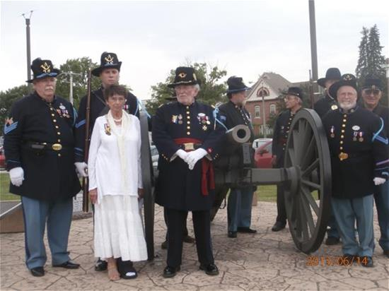Photo of Story County Civil War Sesquicentennial Program on June 14, 2013
