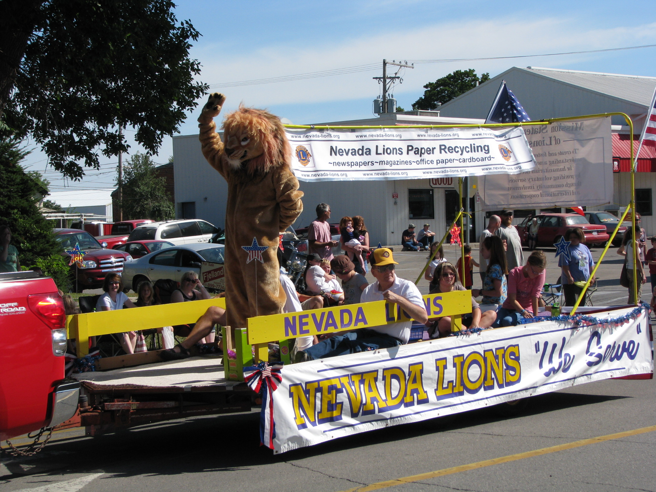 Lincoln Highway Days Float