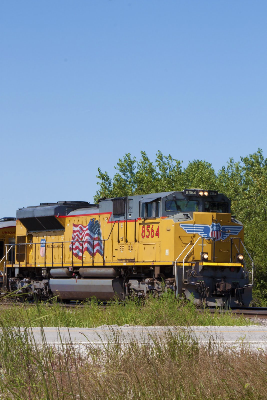 Union Pacific Diesel Locomotive